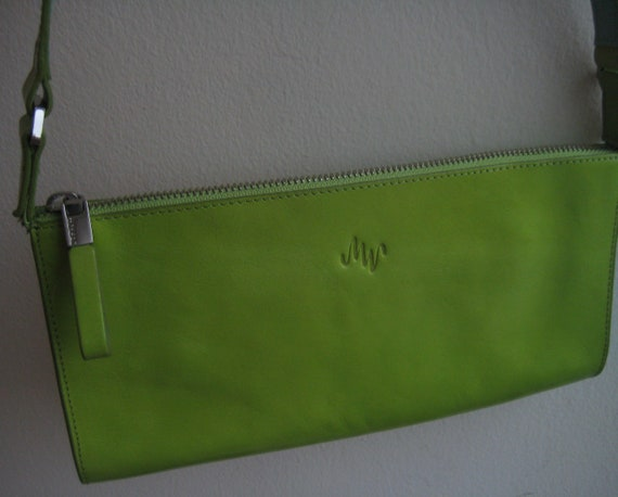 Lime Green Baguette by Monsac