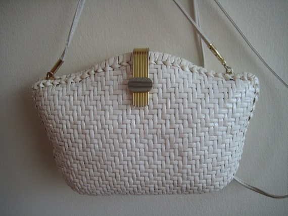 White Wicker Bag from Nordstrom