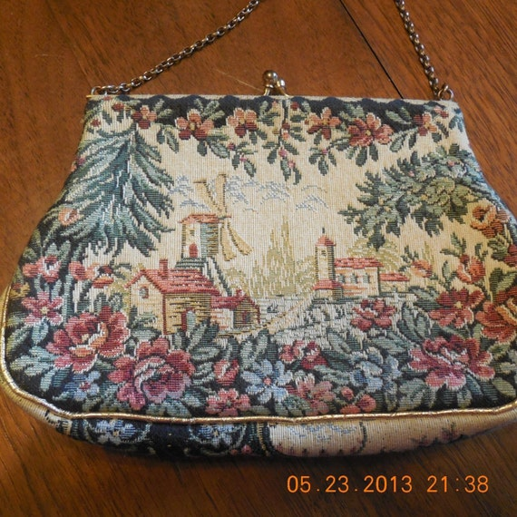 Jolles Collectible Petite Point Purse
