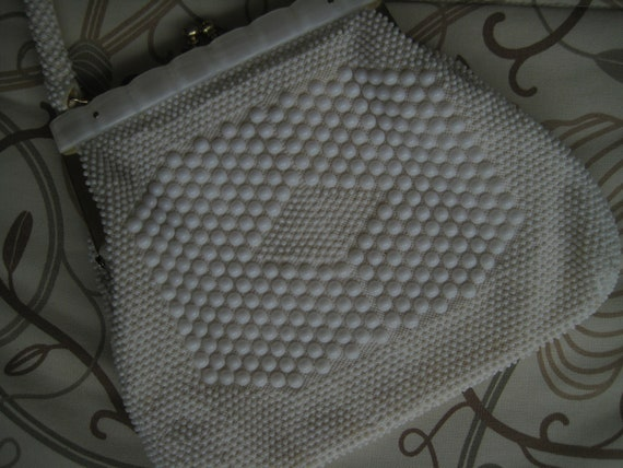 VTG Bead and Lucite Evening Bag