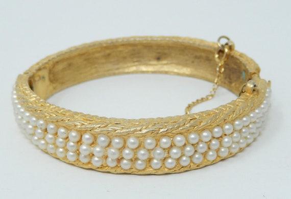 VTG Cuff Bracelet by Hattie C