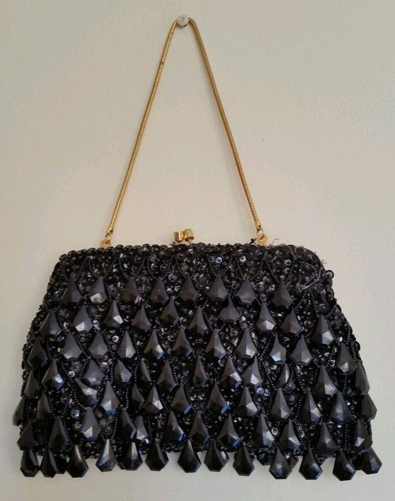 Chandelier Bead Evening Bag