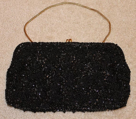 Perfect Black Evening Bag by Stylecraft Miami.