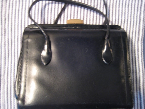 Dark Brown VTG Kelly Bag