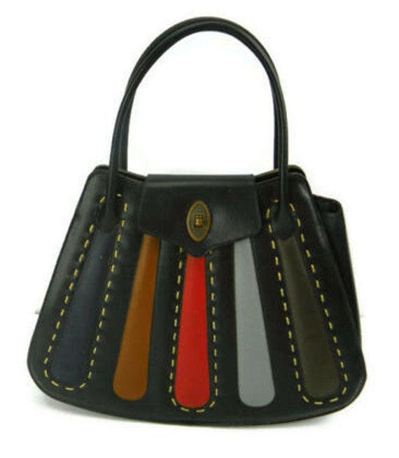 Multi Accents Leather Bag by Stylecraft Miami