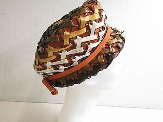 Dana Original Vintage Straw Hat in Brown Tones