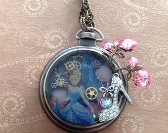 Cinderella Watch Pendent