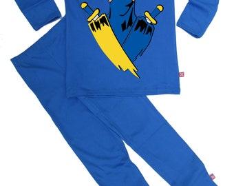 713e7b1296 Stardust NINJA Youtube Gaming Kids Childrens Boys Girls Pyjamas Ethically  Made