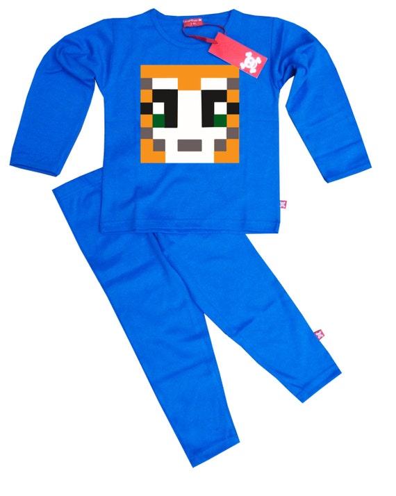 BLUE KIDS BOYS GIRLS STAMPYLONGNOSE MR STAMPY CAT  HOODY HOODIE