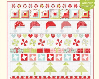 Christmas Cheer Quilt Pattern from Cotton Way
