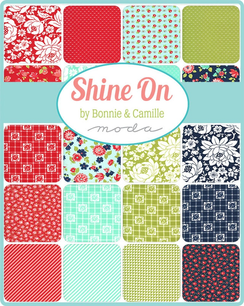 Shine On Charm Pack by Bonnie /& Camille for Moda by the pack