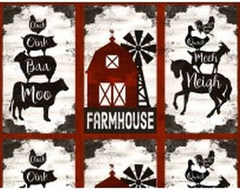 """Homestead 24"""" x 44"""" Farm Panel from Wilmington by the panel"""