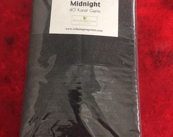 Midnight Black Strip Set from Wilmington Prints by the pack