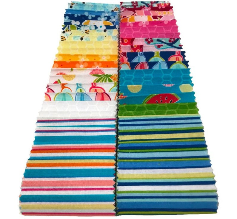 Front Porch Strip-Pies 2-12 Strip Set from Contempo by Benartex by the pack
