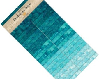 Stonehenge Brights Lagoon Strip Set from Northcott by the pack