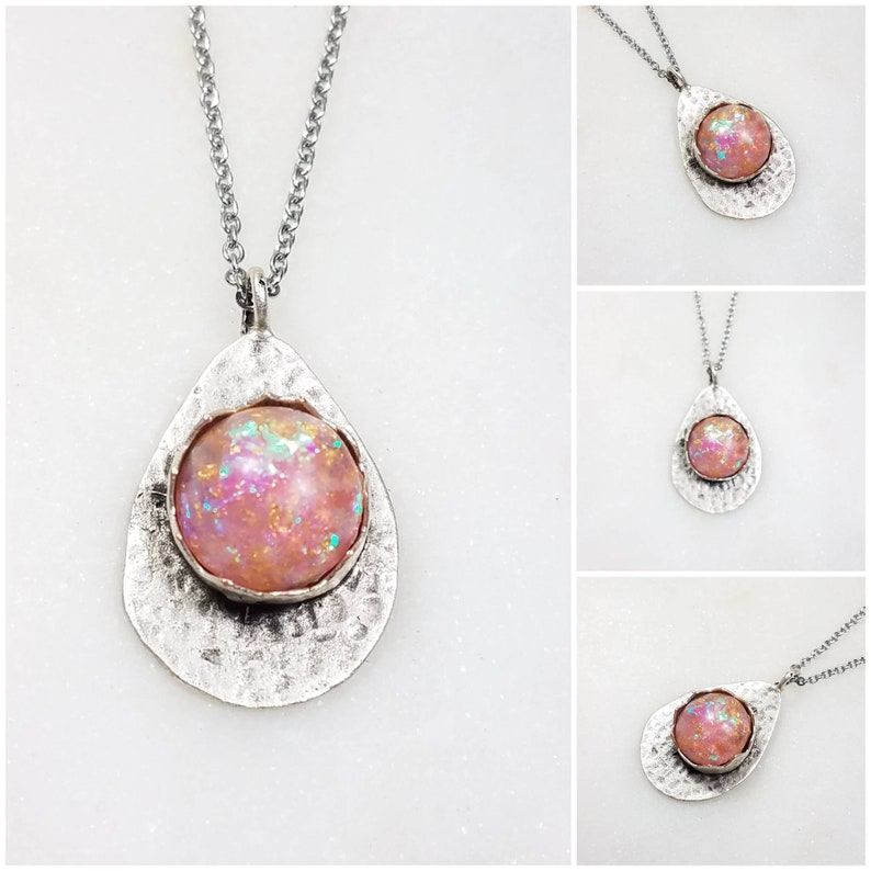 Cremation Memorial Ash Silver Plated Pendant Necklace Pet Memorial Jewelry Ash Necklace99 Colors