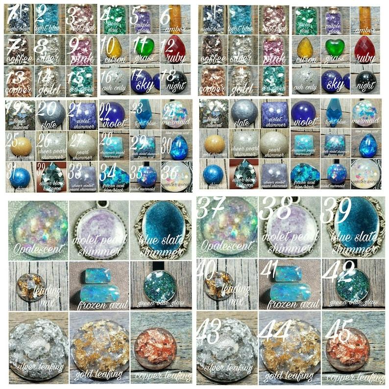 Raku Memorial Ash Beaded NecklaceCremation NecklacePet MemorialAsh Jewelry64 Color OptionsCremation Jewelry