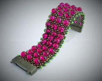 Bumpy Band Bracelet PDF Pattern