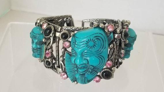 Rare selro turq noh face mask