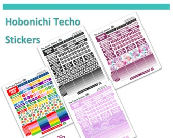 HTC-103 Hobonichi Techo A5 Cousin March Monthly Sticker Sheet