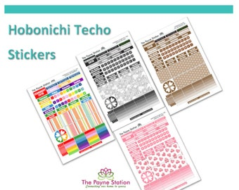 HTC-102 Hobonichi Techo A5 Cousin February Monthly Sticker Sheet