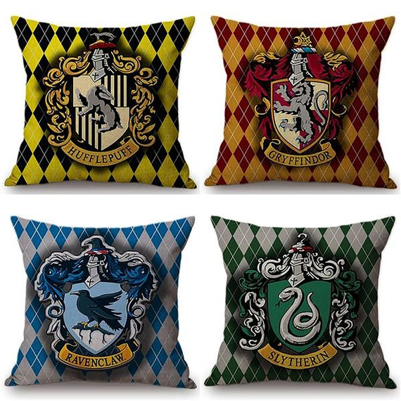 Harry Potter Hufflepuff cushion cover accessories decoration