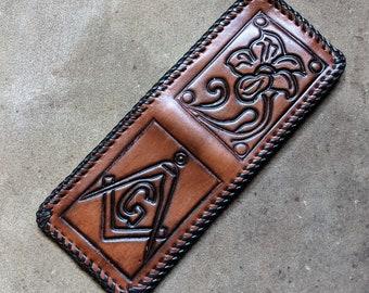 Masonic Wallet 60s New Old Stock