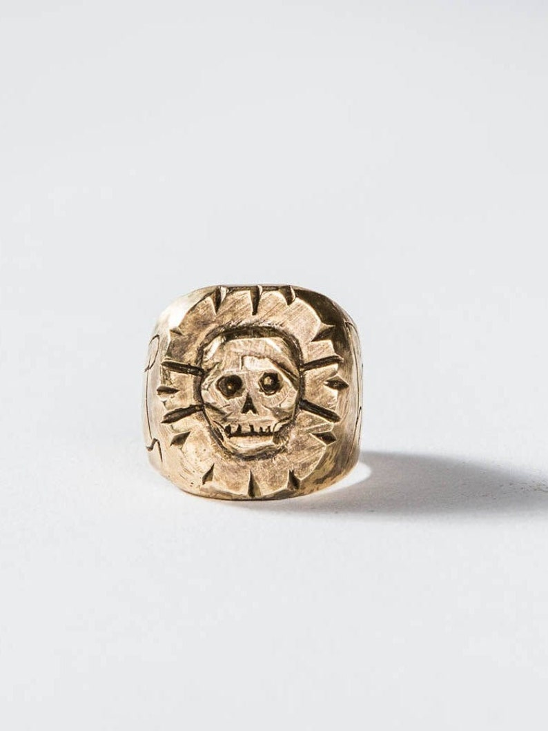 Death or Glory Ring Biker Ring Men's Ring Gifts for image 0