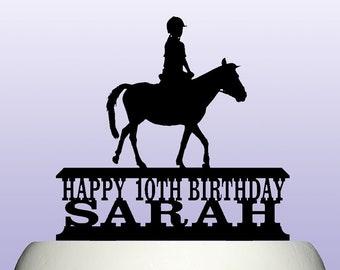 Horse cake topper   Etsy