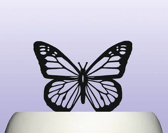 Acrylic Butterfly Wedding Anniversary and Birthday Celebration Cake Topper Decoration