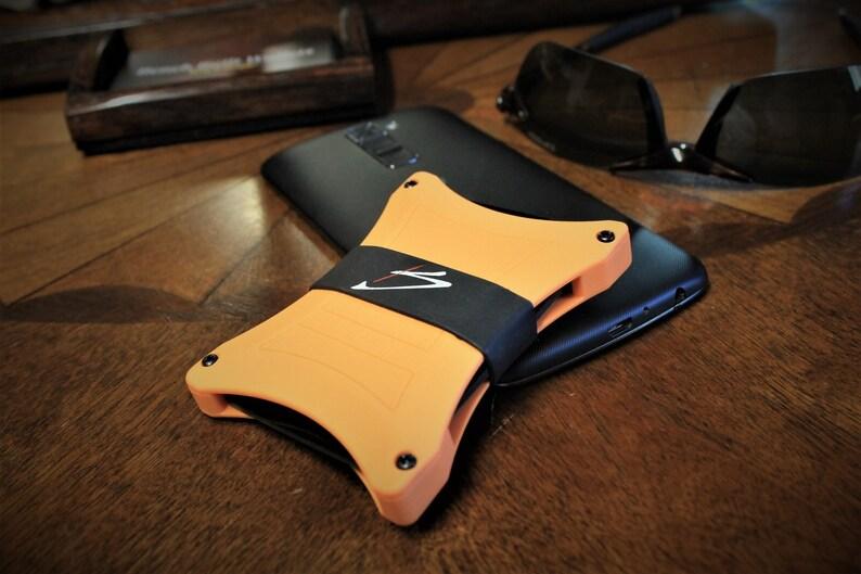 best wallet for men The Perfect Wallet Orange Minimalist Wallet The best wallet Designer wallet Designer wallets