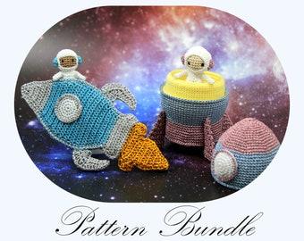 astronaut pattern etsy
