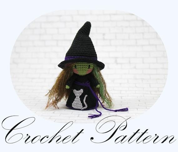 Noemi The Forest Witch: Crochet Pattern Amigurumi Pattern