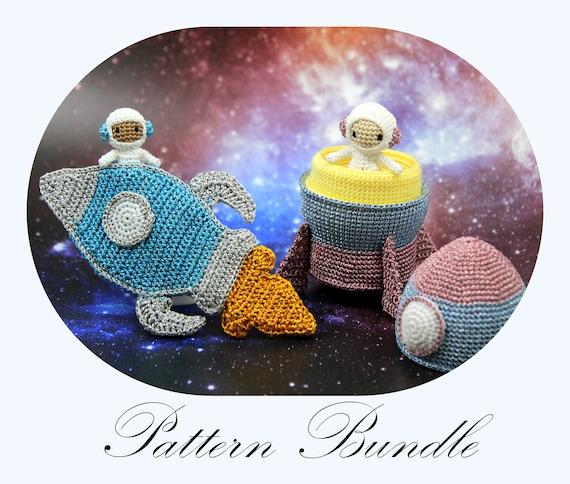 Space Bundle: Astronaut Millie And Astronaut Tommy CROCHET
