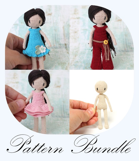 Amigurumi Popcorn Doll Free Crochet Patterns - Crochet.msa.plus | 658x570