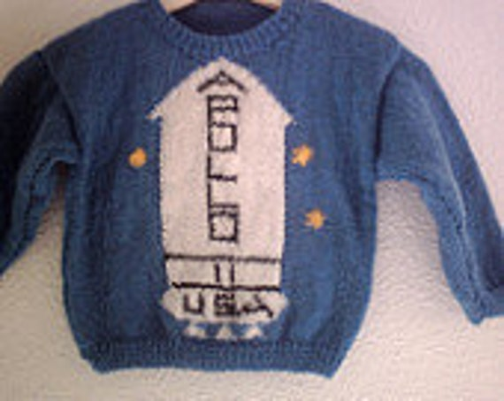 Knitting Pattern Apollo Sweater From The Shining Child Sizes Etsy