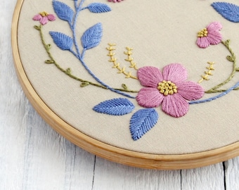 Hand Embroidery Patterns Pdf Etsy