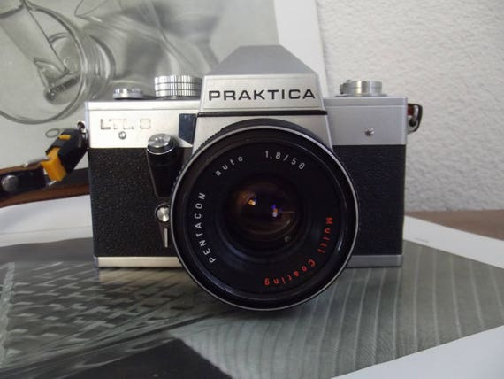 Vintage praktica ltl3 mirror reflex camera photo camera etsy