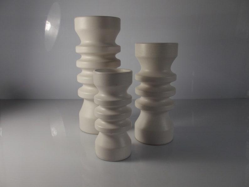 modernistic vase 1980s Flora Gouda Dutch design set ripple vases design Floris Meydam