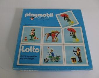 Playmobil lotto, 1977, Playmobil toys