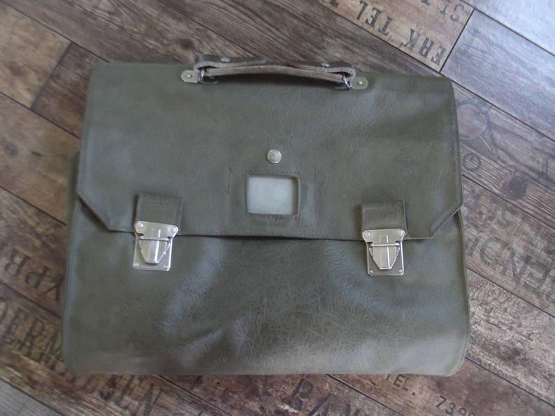 bb13bfc802 Vintage Swiss army messenger bagshool bag documents bag