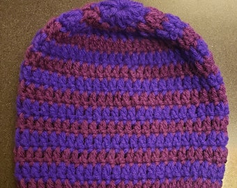 Gift For New Father/'s Gifts for New Mother/'s Purple Crochet Beanie Baby Shower Gift Beanie Gifts Baby Boy And Baby Girl Hospital Hat