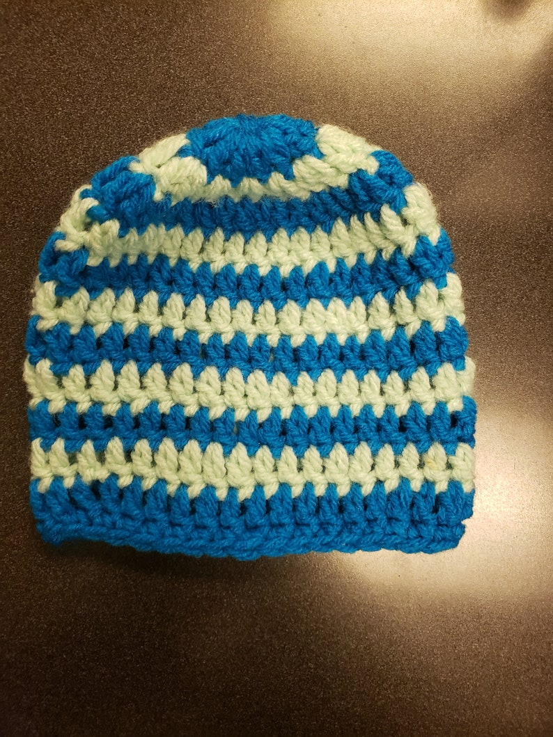 Twins Blue And Green Hospital Hat Baby Shower Gift Baby Beanie Gifts for New Mother/'s Gift For New Father/'s Newborns, Gifts