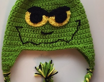 d980a79952174 Grinch crochet hat