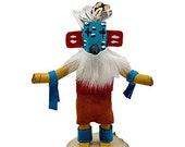 5 Inch Miniature Hummingbird Kachina Doll, Genuine Navajo Native American Tribe Handmade, Southwestern Collectible Figurine