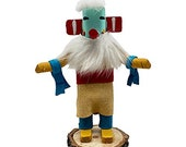 5 Inch Miniature Morning Singer Kachina Doll, Navajo Native American Tribe Handmade in the USA, Southwestern Collectible Figurine