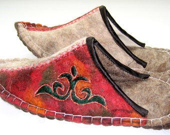 Felted Slippers(3)