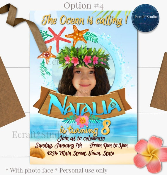 photograph relating to Moana Printable Invitations identify Moana Invitation - Moana Birthday - Moana Image - Moana