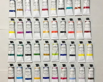 Gamblin Artists' Oil Colours - Set of 40 - Brand New!