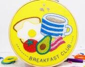 Breakfast Club DIY Embroidery Craft Kit